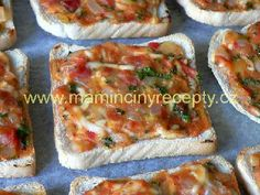 Zahradníkovy tousty – Maminčiny recepty Quiche, Tacos, Mexican, Breakfast, Ethnic Recipes, Food, Morning Coffee, Essen, Quiches