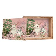 Pimlada Phuapradit Backyard Bunny Storage Box | DENY Designs Home Accessories