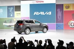 Major Debuts at the LA Auto Show including the Toyota RAV4