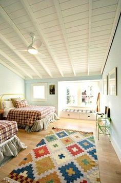 Updated Farmhouse Bedroom by Swanson Construction