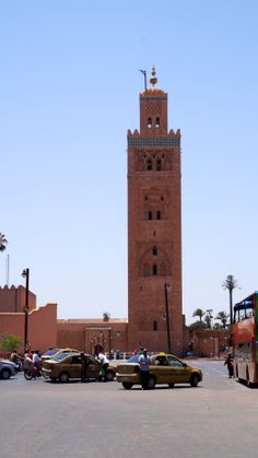 Visible for many area's the Koutoubia Mosque is the largest mosque in the city, located in the southwest medina quarter of Marrakesh alongside the square. It was completed under the reign of the Almohad Caliph Yaqub al-Mansur (1184-1199)