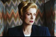 """Love this shot of Catherine Deneuve who plays an immortal Egyptian vampire in """"The Hunger"""" - Directed by Tony Scott"""