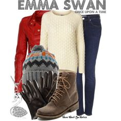 Wear What You Watch • Inspired by Jennifer Morrison as Emma Swan on Once...