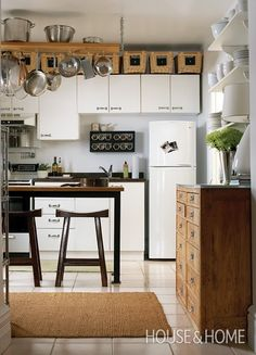 I Love The Drawer Cabinet And Open Shelves To The Right, And If Cabinets Up