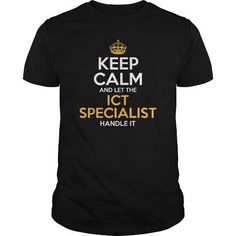 Awesome Tee For Ict Specialist T-Shirts, Hoodies (22.99$ ==► Order Here!)