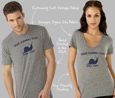 The snail running team shirt one of the many running shirts from I Am Funny T-Shirts. Funny Running Shirts, Funny Shirts, Surf Shirt, Sport T Shirt, Great T Shirts, T Shirts For Women, Funny One Liners, New T Shirt Design, Geek Shirts