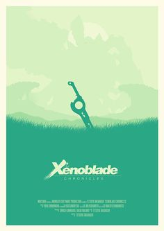 Xenoblade chonicles movie poster