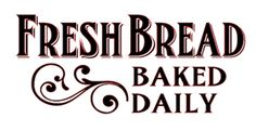Fresh Bread Hand painted Bread Box
