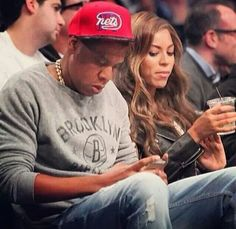"""Haha caption said.... """"see even beyonce does it"""" lol"""