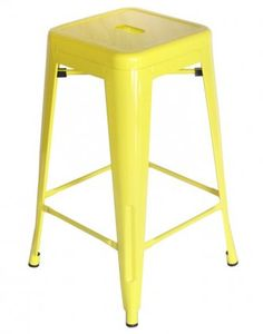 Amelie Stool 66cm – Canary Yellow