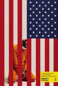 Amnesty International: Unlock the truth about Guantánamo | Ads of the World™ #flag #america #print #guantanamo