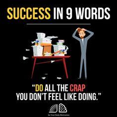 """Success In 9 Words"" ⠀ Entrepreneur Motivation, Business Motivation, Daily Motivation, Motivation Success, Business Quotes, Success Quotes, Fitness Motivation, Wisdom Quotes, Life Quotes"