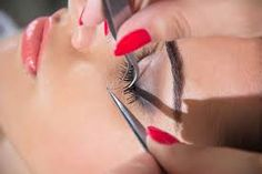 Image result for dramatic false lashes