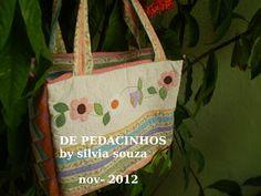 De Pedacinhos Patchwork: Trabalhos de novembro 2012