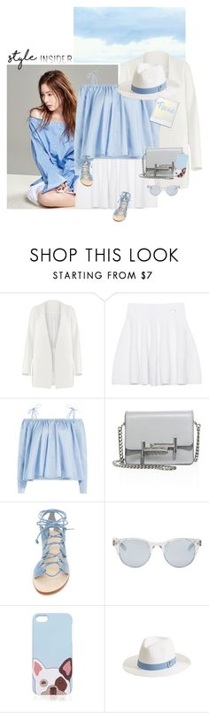 """""""Peace"""" by chebear ❤ liked on Polyvore featuring Non, Kenzo, Sandy Liang, Tod's, Cornetti, Sun Buddies, Melissa Odabash, hat, contestentry and offtheshoulder"""