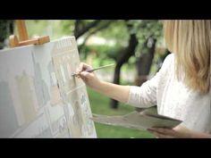 Мастер-класс Лизы Смирновой Lisa Smirnova live painting - YouTube