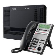 Centrala telefonica digitala NEC SL1000 cu 4 linii, 8 extensii si telefon digital Office Phone, Landline Phone, Magazine, Magazines, Warehouse, Newspaper