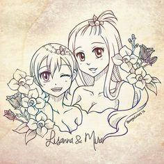 Lisanna and Mirajane
