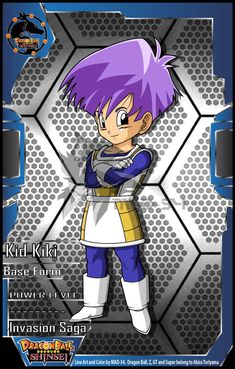 Ozotto Kid Daiku (Invasion Saga) by on DeviantArt Dbz Multiverse, Gender Bender Anime, Anime Characters, Fictional Characters, Detailed Image, Dragon Ball Z, Anime Art, Character Design, Deviantart