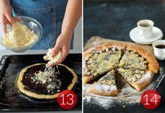 Dvojctihodný koláč s tvarohovou náplní | Apetitonline.cz Pie, Desserts, Food, Torte, Tailgate Desserts, Cake, Deserts, Fruit Cakes, Essen
