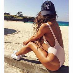 One piece swimsuit - Mauve | Buy My Clothes