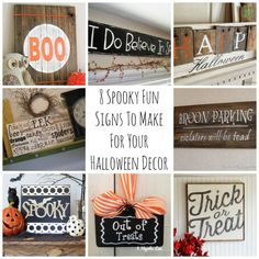 Halloween is a great time to change up some of your usual home décor pieces and add in something with a little more spunk. If you love decorating your home for the spooky holiday, then you may jus. Halloween 2015, Halloween Birthday, Halloween Projects, Happy Halloween, Halloween Ideas, Wall Art Crafts, Diy Wall Art, Spooky Halloween Decorations, Holiday Decorations
