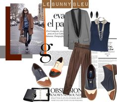 """Le Bunny Bleu- Manchester Oxfords"" by lebunnybleu on Polyvore"