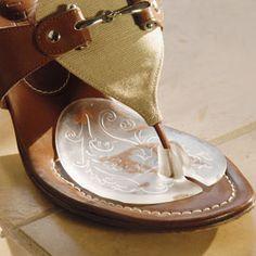 Flip-Flop Gel Cushions   Make your favorite sandals and flip-flops even more comfortable.