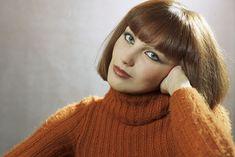 Lantos Piroska Warm Autumn, Feminine, Turtle Neck, Retro, Beauty, Hungary, Fashion, Girly, Beleza