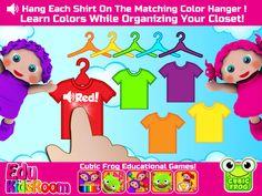 EduKidsRoom teaches kids colors and matching! Educational Resource https://itunes.apple.com/us/app/preschool-edukidsroom-free/id612955883?mt=8
