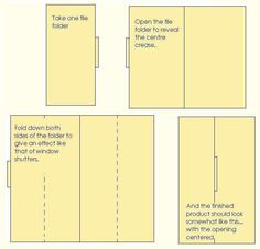 How Do I Make a Lapbook. Basic Layout. This week my level 1 Spanish students will make a lapbook to conjugate verbs!!!