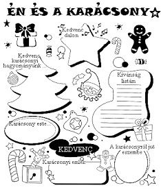 Játékos tanulás és kreativitás: Én és a ... Winter Kids, Christmas Crafts For Kids, Xmas Crafts, Christmas Time, Diy And Crafts, Christmas Decorations, Advent Calendar Activities, Reading Tree, Christmas Worksheets