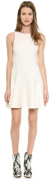 Tibi Kai Flirty Sleeveless Dress. @lmnlmgtrde It's simple, but chic.