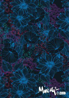 Suszi Corio Textile Studio. International Clients.    Mirella Bruno Print Designs. © 2010.