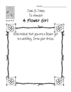 1000 images about junie b jones on pinterest junie b for Junie b coloring pages
