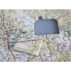 Home is where the heart is, so why not put a place you love at the heart of a map jigsaw puzzle?  This specially developed map jigsaw is the perfect gift for any one moving into a new house or to remind them of an old one !  The centrepiece is shaped like a house, and by providing us with an address, we can ensure the centrepiece of the map is the very place your house is.  The map is bursting with colourful information showing everythi...