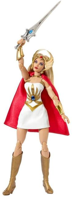 Mattel Exclusive Masters of the Universe She-Ra Doll - Free shipping for ALL USA buyers. International buyers pay actual postage. (If international buyer is charged more than actual postage, refund wi