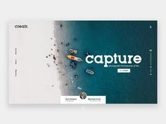 Creatr Landing Page - UI/UX Challenge by Kiaan on Dribbble Website Design Inspiration, Landing Page Inspiration, Website Design Layout, Web Layout, Website Designs, Website Ideas, Creative Web Design, Web Design Tips, Web Design Company
