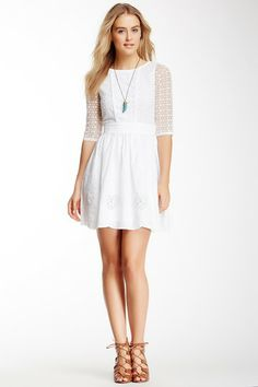 Yumi London Broderie Anglais Eyelet Dress by Yumi London on @HauteLook