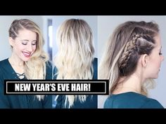 A New Year's Eve Hairstyle! - YouTube