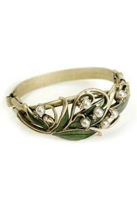 Lily of the Valley Bracelet $79.00 http://www.celebrateyourfaith.com/Lily-of-the-Valley-Bracelet-P14342C1727.cfm