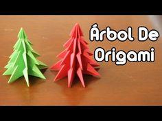 Como fazer Árvore de Natal em Origami - Christmas Tree - YouTube