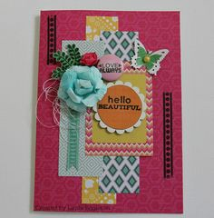 All About Scrapbooks - Kaisercraft, Fiesta by Linda Eggleton