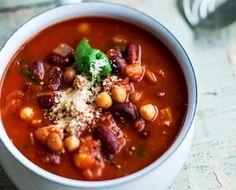 Spicy bean soup/Mausteinen papukeitto