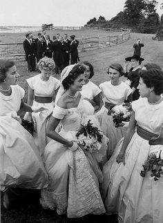 Jackie Kennedy, wedding