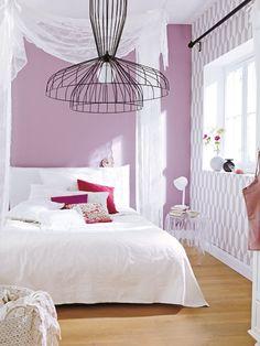 Stilbrüche sind super spannend - wie bei diesem Schlafzimmer ... MEHR IDEEN >>