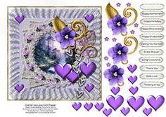 Cherish The Love Card Topper 1