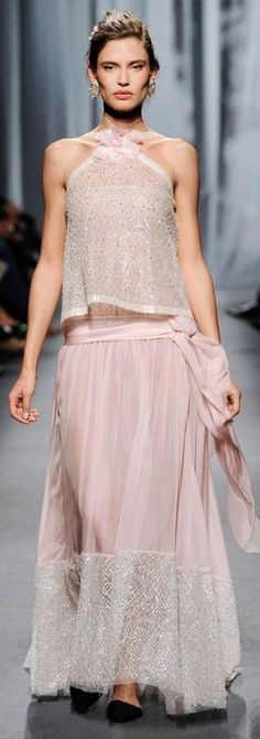 Chanel pastel pink