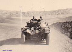 8è Hussards Jean Orange sur une piste