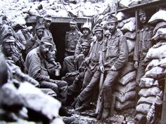 AUstrian soldiers on the Isonzo Front, 1917